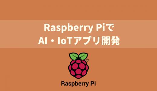 【AI・IoT開発入門】Raspberry PiとTensorFlowではじめるAI・IoTアプリ開発入門